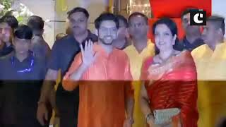 Bollywood celebs arrive at Ambani's residence for Ganesh Chaturthi