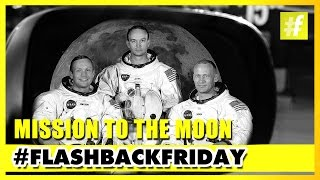 Neil Armstrong and Edwin Aldrin's Mission To The Moon | #FlashbackFriday