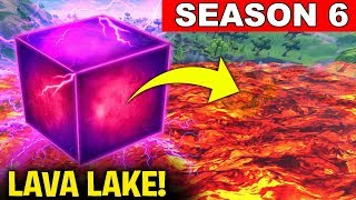 SEASON 6 IS COMING ANDTHE CUBE IS NEAR LOOT LAKE! - CUBE EVENT LIVE  (Fortnite Battle Royale)