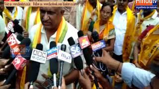 karimnagar tdp jilla shakha adhyakshudu ambati jojireddy in media//HINDUTV LIVE//