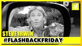 Steve Irwin A Tribute to The Crocodile Hunter | #Flashback Friday