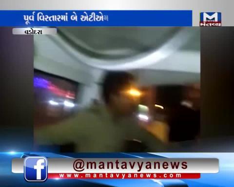 ATM Theft attempt in Vadodara