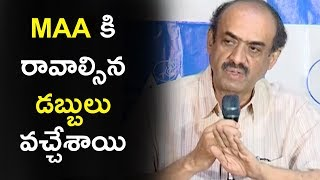 Producer Suresh Babu About MAA Financial Issues | MAA Press Meet