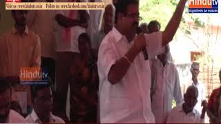 Siddipeta jilla gajwel lo MP KOTTAPRABHAKAR REDDY paryatana//HINDUTV LIVE//
