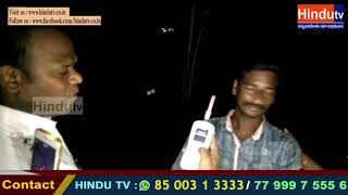 Peddapalli District Godavarikani lo drunk and drive nirvahinchina additional dcp //HINDHUTV LIVE//