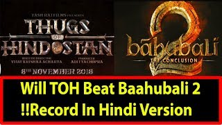 Thugs Of Hindostan Is Bollywood Answer To Bahubali I Will It Break Baahubali 2 Record In Hindi?