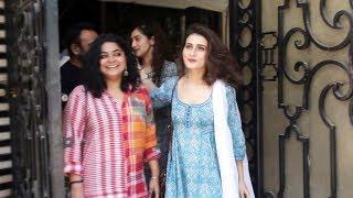 Fatima Sana Shaikh Spotted At Balaji Telefilms Andheri