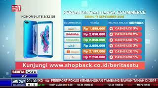 Perbandingan Harga e-Commerce: Honor 9 Lite 3/32 GB