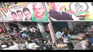 Congress President Rahul Gandhi's roadshow in Bhopal, Madhya Pradesh