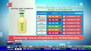 Perbandingan Harga E-Commerce: Zwitsal Baby Shampoo 300ML