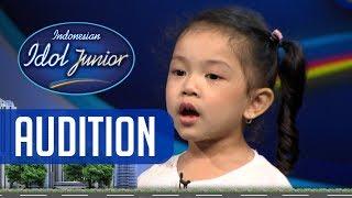 Dengan percaya diri yg besar, Alysa membuat juri kagum - AUDITION 3 - Indonesian Idol Junior 2018