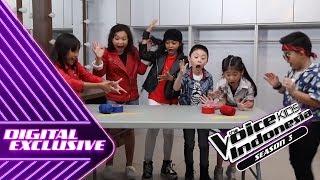 Gemes! Lihat Mereka Main Spaghetti Challenge!   PLAYTIME #2   The Voice Kids Indonesia S3 GTV 2018