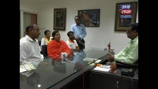 Sadhvi Devatiji Special visit at Abtak Media