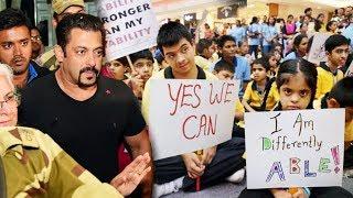 Salman Khan Inaugurates A Centre For Special Children In Jaipur - Golden Heart Man