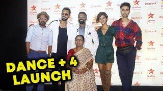 Star Plus Dance+4 GRAND Launch | Remo Dsouza, Dharmesh, Shakti, Raghav, Sumeet