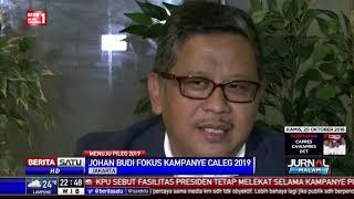 Mundur Sebagai Jubir Kampanye, Johan Budi Fokus Nyaleg
