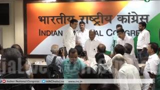 Rafale Deal Scam: AICC Press Briefing By AK Antony and Randeep Singh Surjewala at Congress HQ