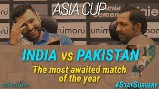 StatSurgery : India vs Pakistan at a glance in Asia Cup
