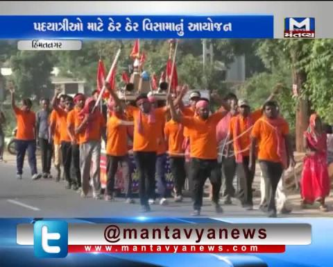 Himmatnagar: Hospice organized near Virpur Human Temple for Ambaji Pilgrims