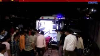 Virpur  : Father -son died falling tractor in Narmada pipe line dug.