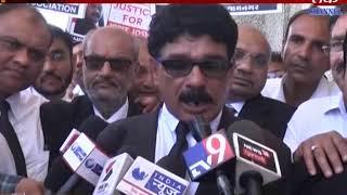 JAMNAGAR : REGARDING MURDER OF ADVOCATE BAR ASS. GAVE APPLICATION TO COMMISSNOR
