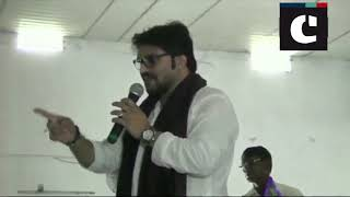 Babul Supriyo loses his cool at an event for differently-abled; says 'can break your leg' to a man
