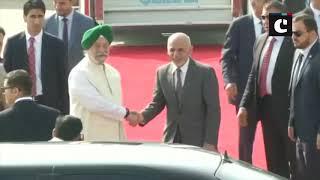 Afghanistan President Ghani arrives in Delhi