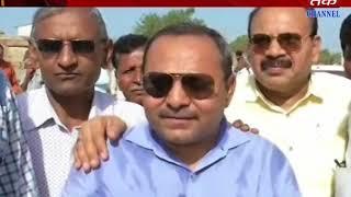 Keshod - Soil Erection is Done in Mevasa Checkdam