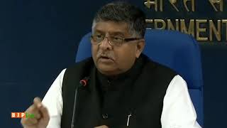 Due to vote bank politics, Congress didn't support Triple Talaq Bill: Ravi Shankar Parsad