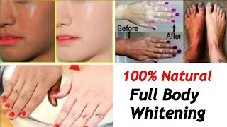 Full Body Whitening | DIY Bath Powder | JSuper kaur