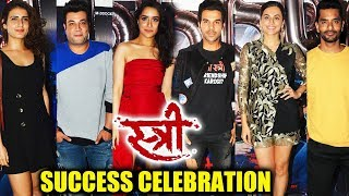 STREE Movie 100 CRORE SUCCESS PARTY | Shraddha Kapoor, Rajkummar Rao