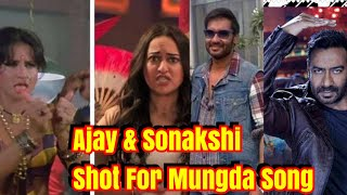 Ajay Devgn And Sonakshi Sinha Completes Mungda Song For Total Dhamaal