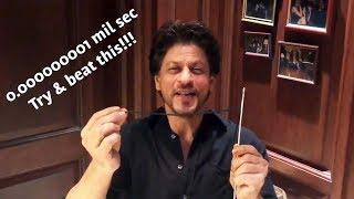 Shahrukh Khan Funny Sui Dhaaga Moment, Accepts Anushka Varun's Sui Dhaaga Challenge