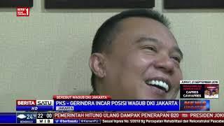 Kader PKS dan Gerindra Diminta Tenang Soal Posisi Calon Wagub DKI