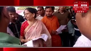 Bulandshahr]बुलंदशहर में हलाला बहुविवाह के खिलाफ आवाज उठाने वाली महिला से मिली महिला आयोग की चेयरमैन
