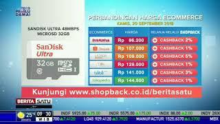 Perbandingan Harga e-Commerce: SanDisk Ultra 48Mbps MicroSD 32GB