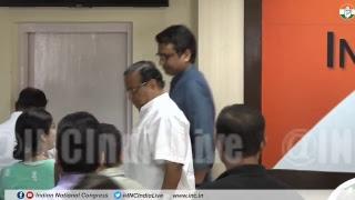AICC Press Briefing By Jitendra Singh and Niranjan Patnaik at Congress HQ