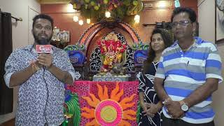Ganesh Decoration By Sajjan Asgaonkar Family