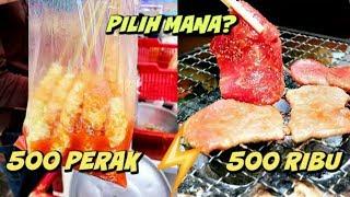 KULINER 500 PERAK VS 500 RIBU (BANDUNG)