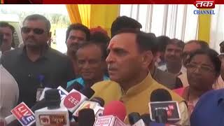 Sabarkatha : CM Vijay Rupani Incarnated Digging Activity Of Pond & Chekdem
