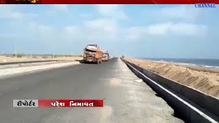 Madhavpur : Car & Truck Driver Lose Their Control On Strings & It Resulted In Accident