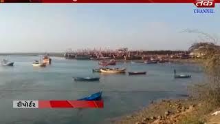 Okha : 2 Number Signal Alerted To Okha Port