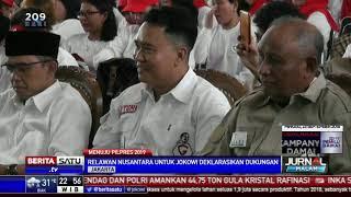 Relawan Garasi di Jaktim Deklarasi Dukung Jokowi-Ma'ruf