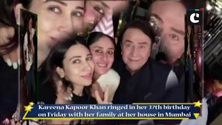 Kareena Kapoor rings in 37th birthday with family
