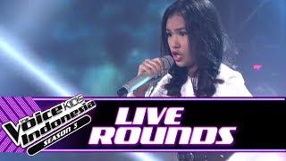 "Vanessa ""Unconditionally"" | Live Rounds | The Voice Kids Indonesia Season 3 GTV"