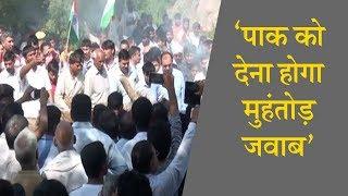 Ramgarh में Shaheed हुए Jawan का Antim संस्कार || ANV NEWS