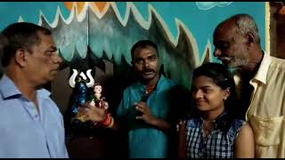 Ganesh Decoration By Sanket Naik Family