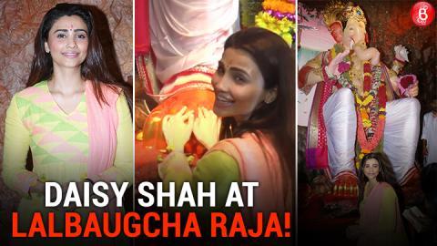 Daisy Shah Visits Lalbaugcha Raja!