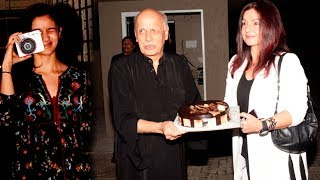 Alia Bhatt Throws A Grand Birthday Party For Father Mahesh Bhatt