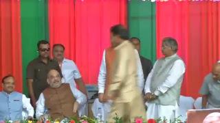 Shri Amit Shah addresses Shakti Kendra Sammelan in Raipur, Chhattisgarh